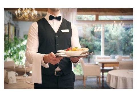 Работа официантом! Ищу работу!
